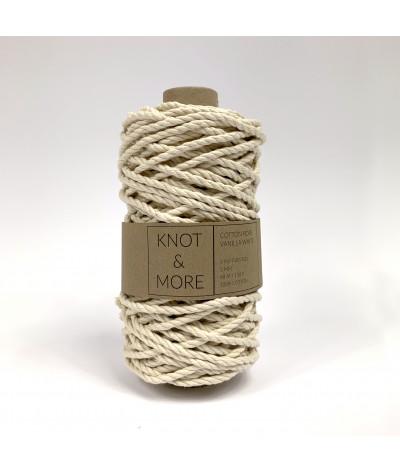 Naturalny / waniliowy sznurek do makramy