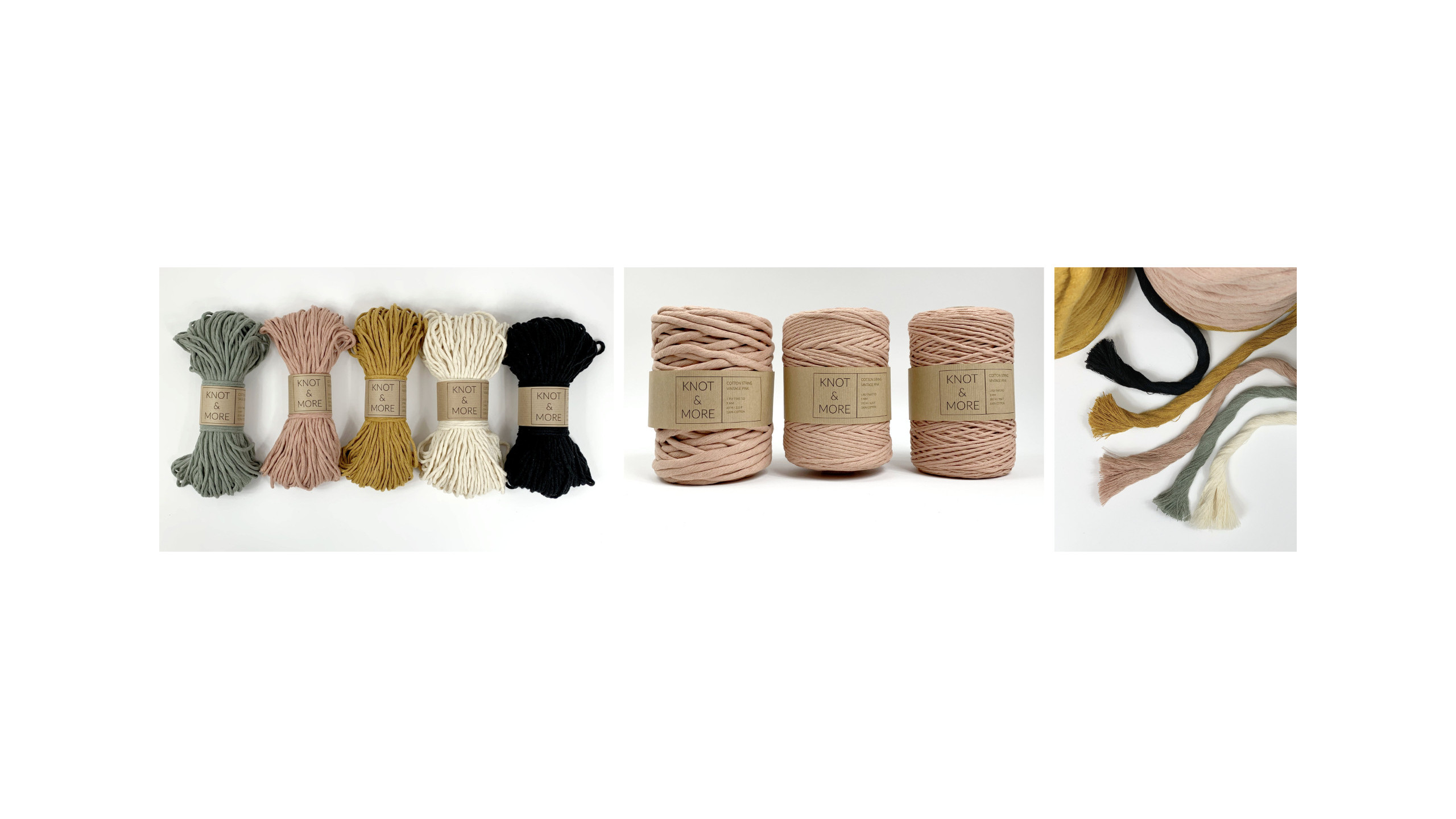 Macrame strings - Knot and More