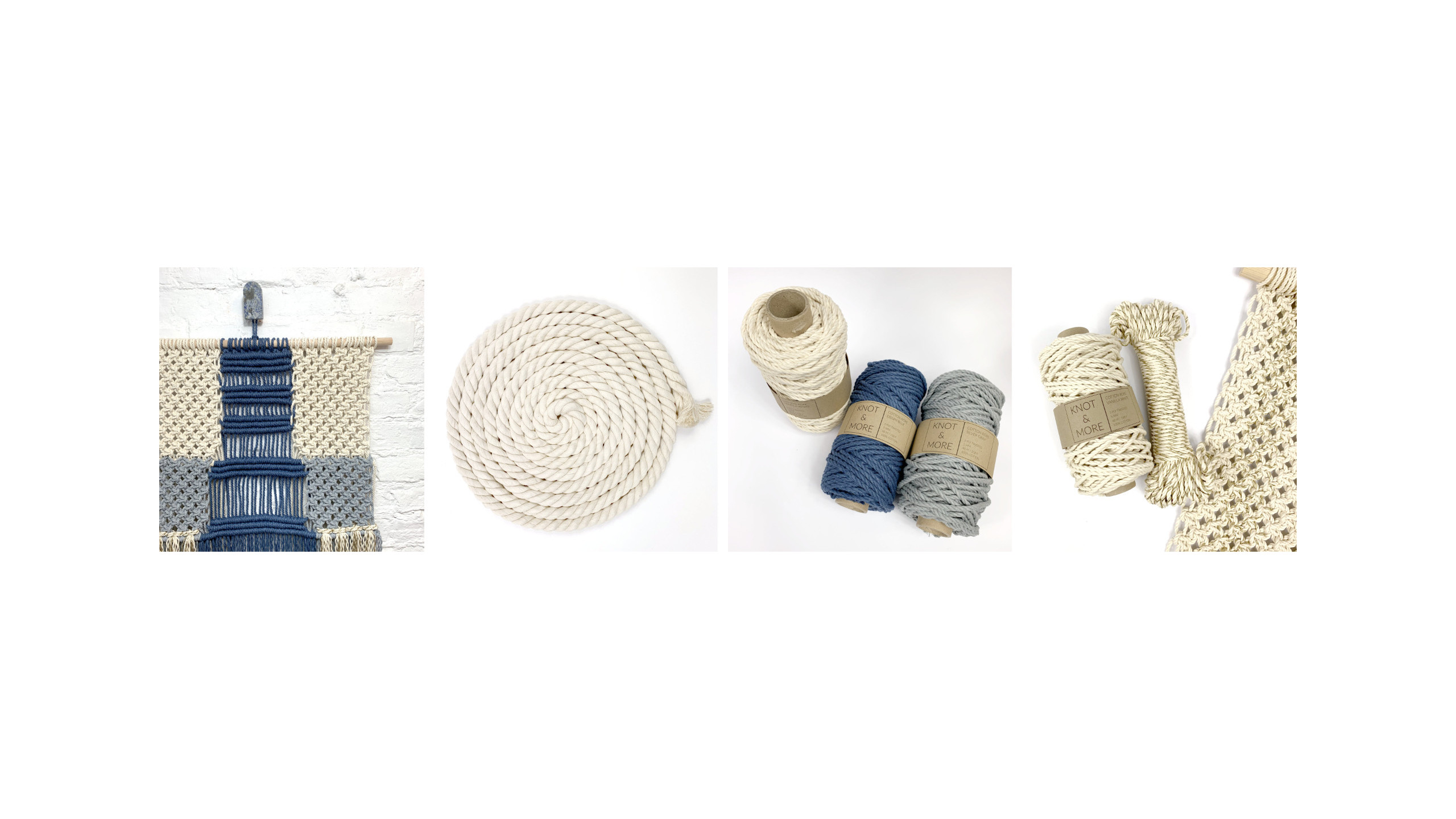 Macrame ropes - Knot and More