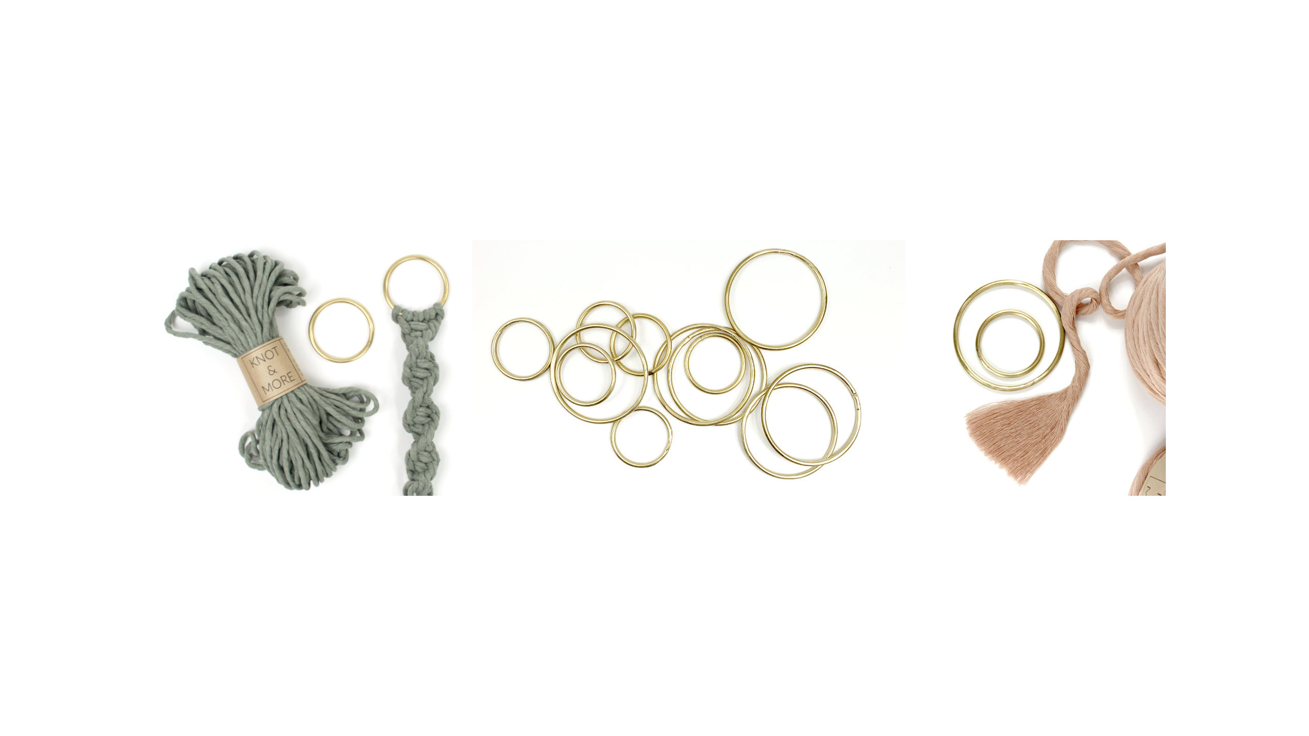 Macrame accessories - Knot and More